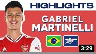 Welcome to Arsenal Gabriel Martinelli—Highlights of the 18-Year-Old Brazilian Striker
