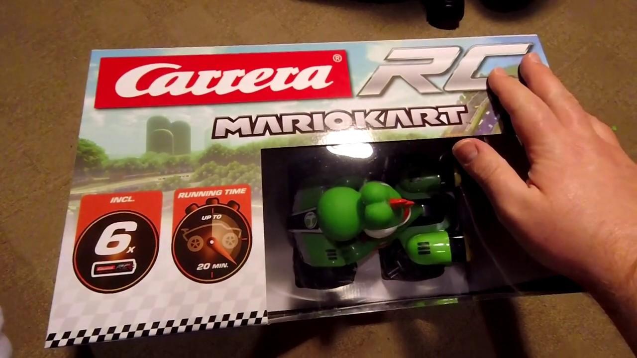 Carrera Nintendo Mario Kart 8 Rc Quad Bike With Controller Yoshi