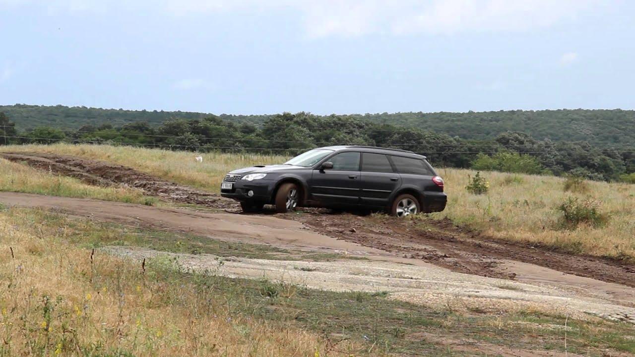 subaru outback diesel mud test youtube. Black Bedroom Furniture Sets. Home Design Ideas