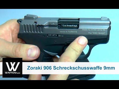 Zoraki 906 Schreckschusswaffe 9mm, Titan-Optik, Schreckschusswaffe, Gaswaffe, www.waffenfuzzi.de