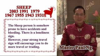 Master Paul Ng 2017 Chinese Zodiac Predictions- Sheep