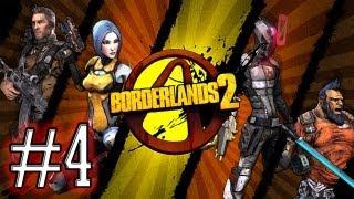 Borderlands 2 - Aventure à 4 sur Pandora ! Partie 4 [HD]