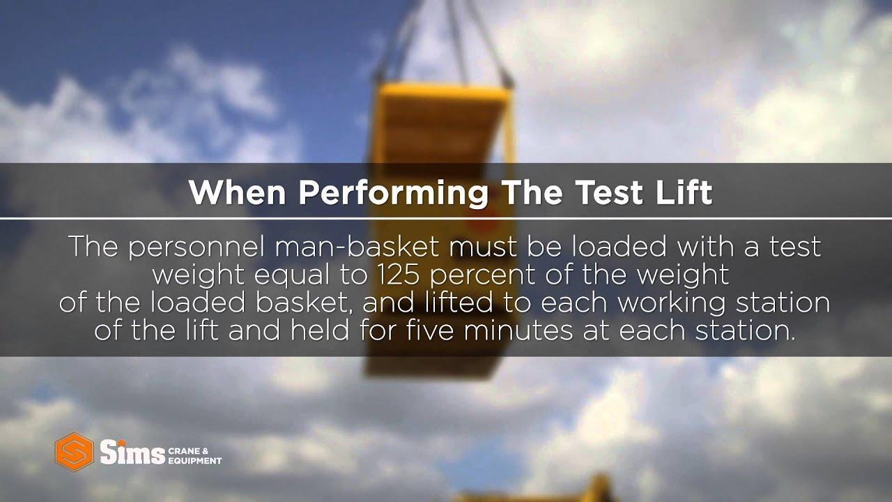 da9c745f2ca8e Personnel Man-Basket Safety