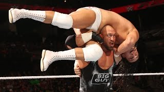 Ryback vs. Bo Dallas: Raw, October 27, 2014