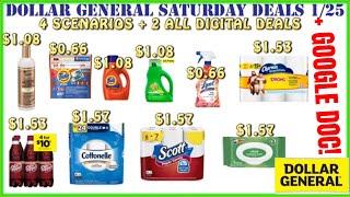 🤗$0.66 TIDE+$1.50 Scott+Dollar General Deals 1/25 +Dollar General Saturday