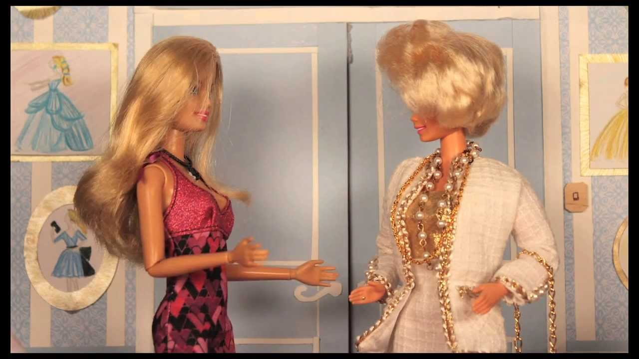Barbies Mother  A Barbie parody in stop motion FOR