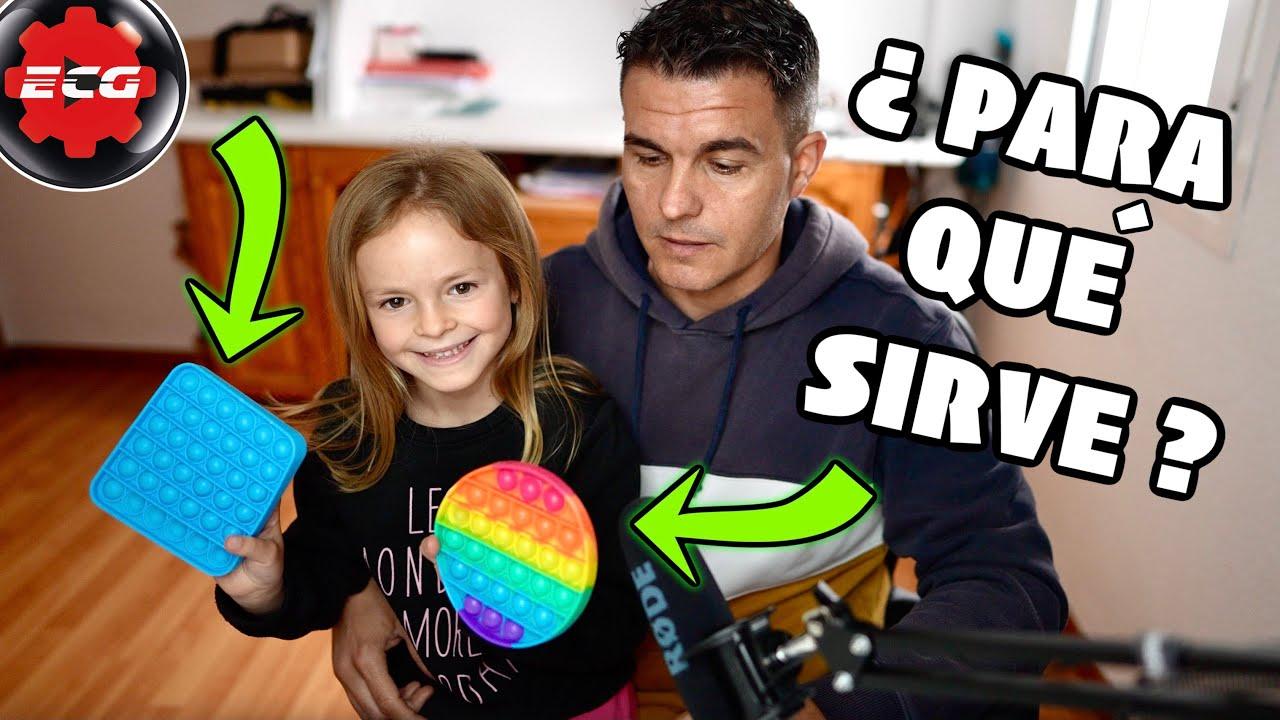 Pop it fidget toy (todos los niños lo quieren) - YouTube