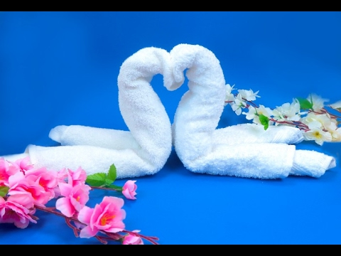 Come realizzare un cigno con un asciugamano