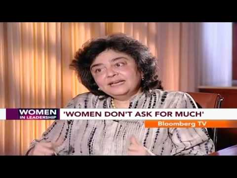 Women In Leadership- Women Don't Ask For Much: Zia Mody