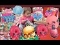 Mystery Eggs Surprise With Luna Monday! Funny Baby Reaction Unboxing Shopkins and Trolls: Toy Review
