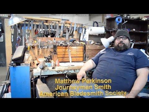 2017 Journeyman Smith Knife of the Year by Matthew Parkinson