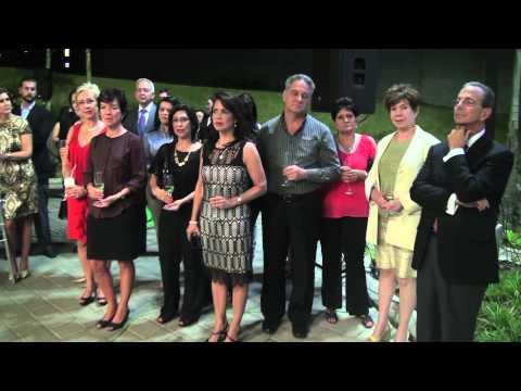 ACTO DE INAUGURACION HOTEL HOLIDAY INN EXPRESS MANAGUA
