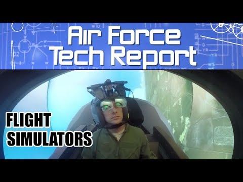 Air Force Tech Report: Flight Simulators