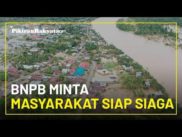 Hingga 18 Januari 2021 Ada 154 Bencana Alam di Indonesia, BNPB Minta Masyarakat untuk Siap Siaga