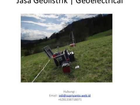 Jasa Geolistrik | Geo Electric Kabupaten Banggai Laut-Banggai Sulawesi Tengah
