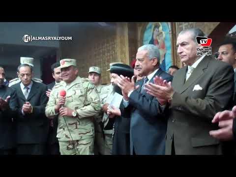 قائد الجيش الثالث ومدير أمن السويس والمحافظ يهنئون الأقباط بمناسبة رأس السنة الميلادية