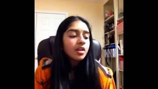 Aneesha Mantripragada - Padutha theeyaga auditions  USA 2015