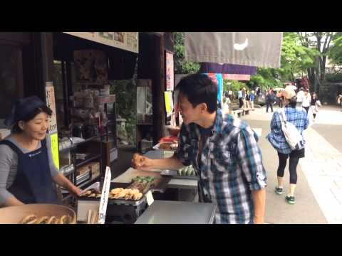 Japan Travel-Visiting Jindaiji to Sample Soba and Famous Snacks 深大寺