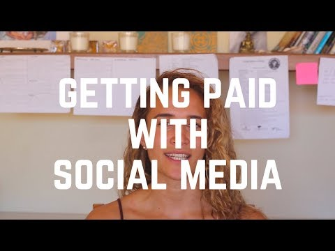 getting paid online or with social media