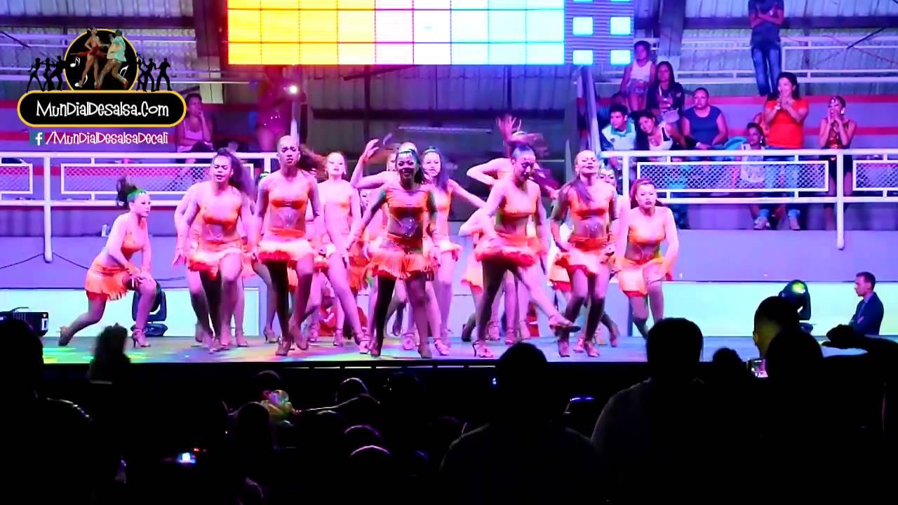 Imperio Juvenil Base Salsa Ladies 2016