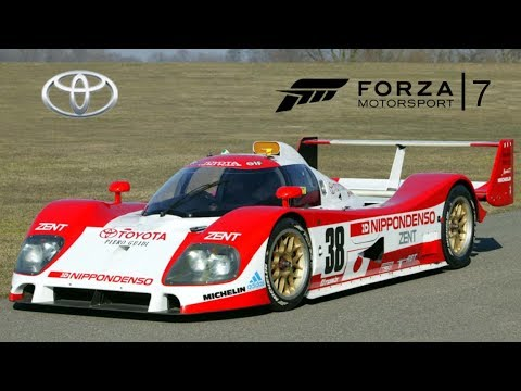 forza motorsport 7 wishlist 25 toyota race cars youtube. Black Bedroom Furniture Sets. Home Design Ideas