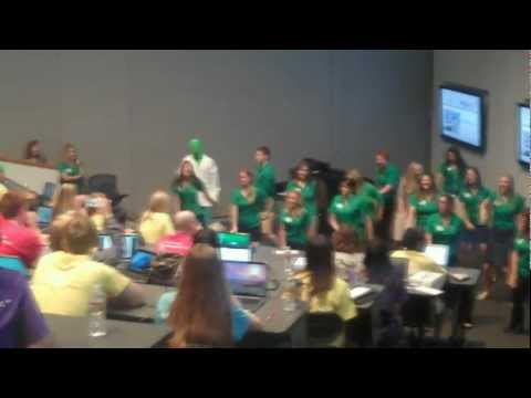 UNTHSC Flash Mob at 2012 Student Orientation