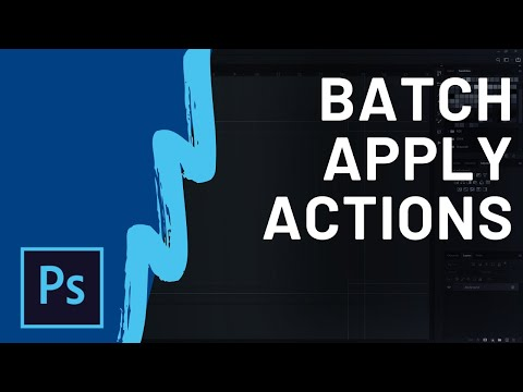 How to Batch Process Actions in Photoshop