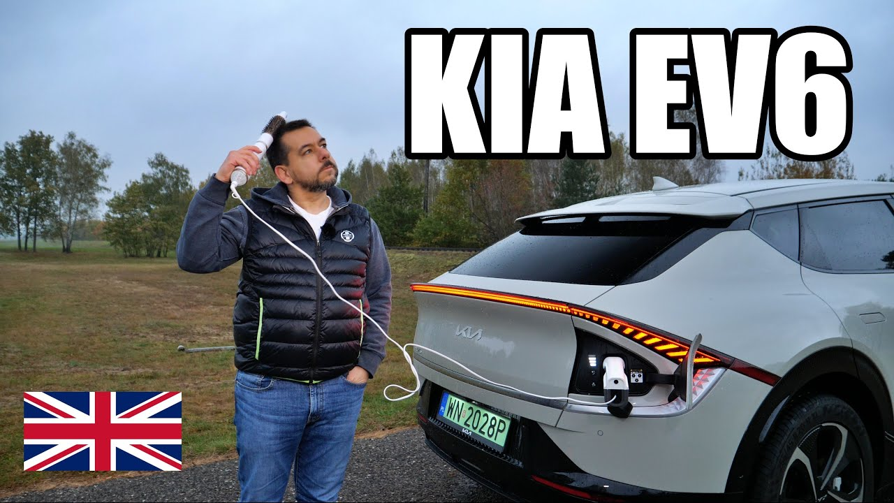 KIA EV6 - This or Enyaq? (ENG) - Test Drive and Review