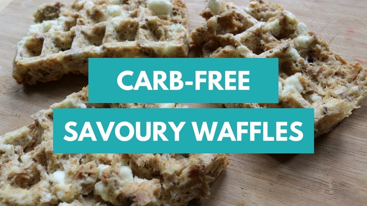 Carb-Free Savoury Tuna Waffles | 170 kcal each | Keto Approved ...