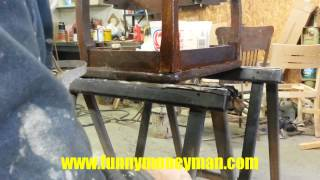 Skip's Custom Refinishing... Stripping And Refinishing An Antique End Table