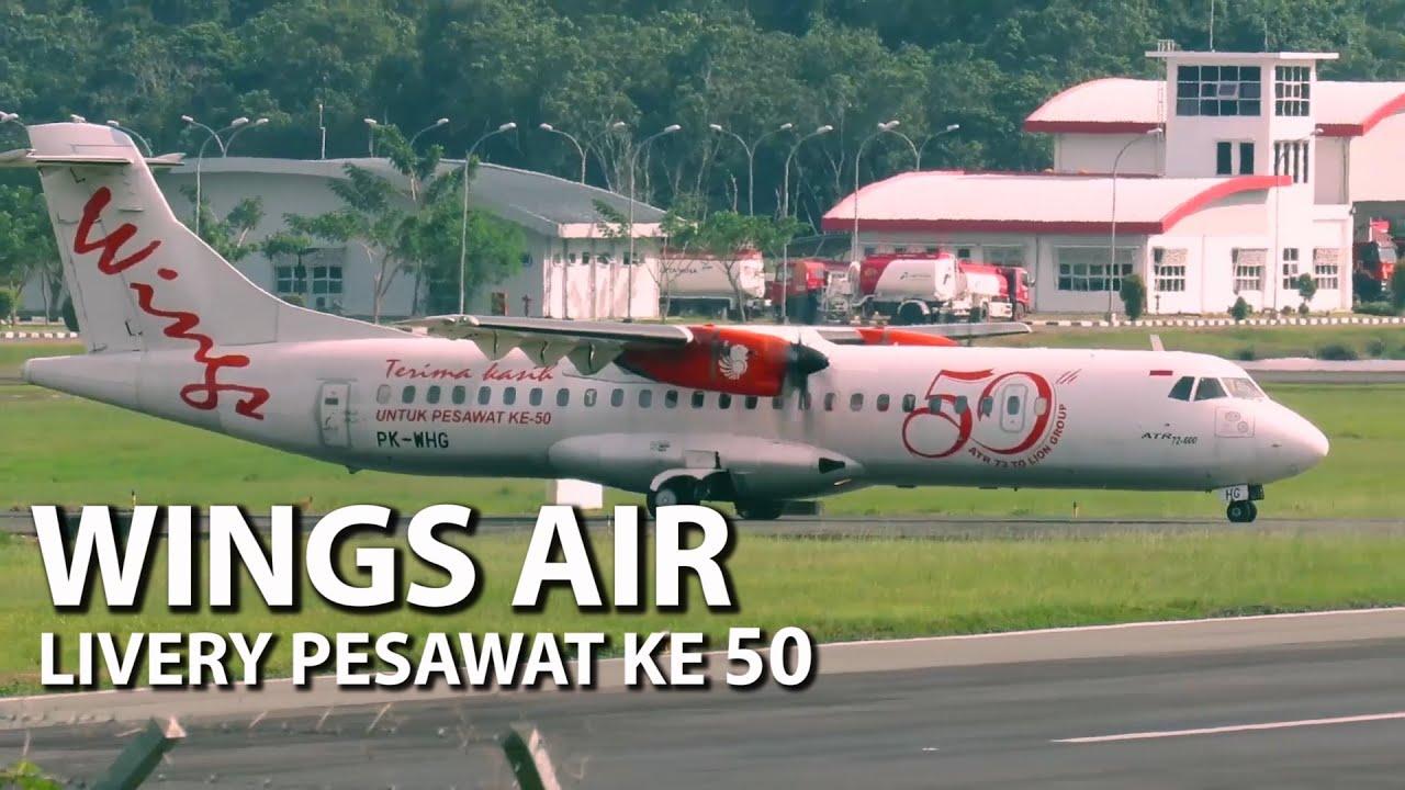 Pesawat Ini Paling Banyak Masuk Daerah Kecil - Pesawat Terbang Wings Air (Pesawat Terbang Indonesia)