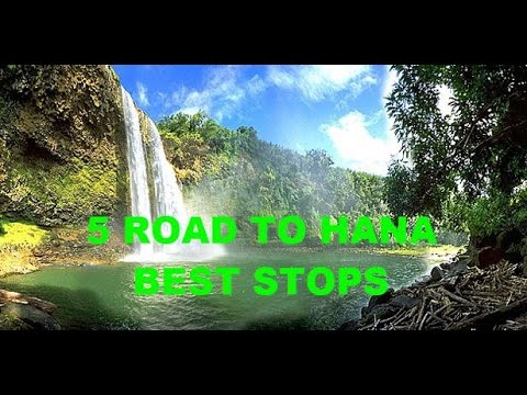 maui-hawaii---the-road-to-hana---best-mile-markers-black-&-red-sand-beaches-and-waterfalls