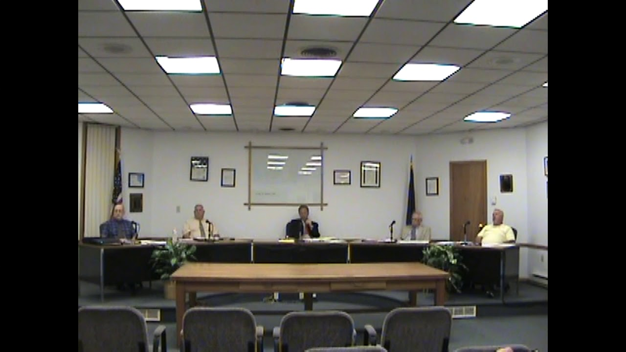 Rouses Point Village Board Meeting  9-18-17