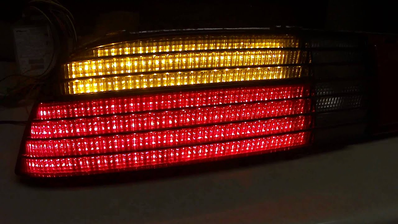 LED Fiero Tail Lights Photo Gallery
