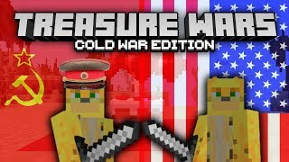 "Minecraft ""Treasure Wars"" But It's The Cold War Instead"