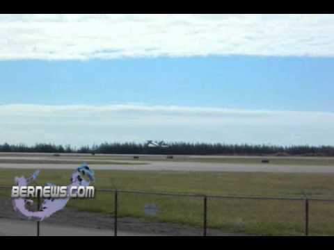 R.A.F. Euro Fighters visit Bermuda