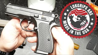 New CCW CZ P01 Receives LOK Grips as First Modification