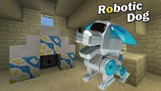 How to Spawn a ROBOTIC DOG | Minecraft PE