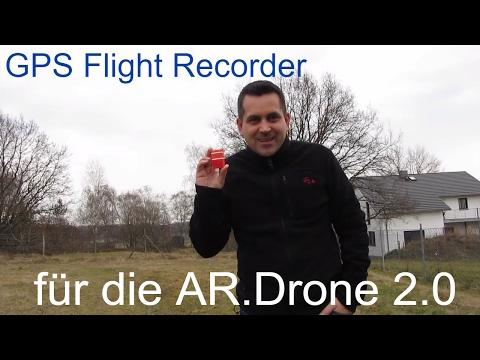 GPS Flight Recorder Parrot AR Drone 2.0 - einfach erklärt