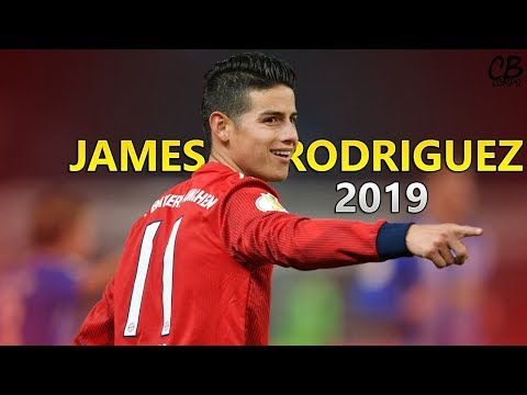 James Rodriguez-Fearless-Goals,Assists and Skills 2019