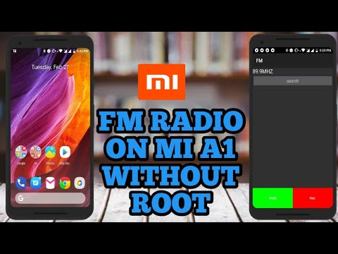 Activate fm radio on mi a1 without root| tips and tricks for Mi A1