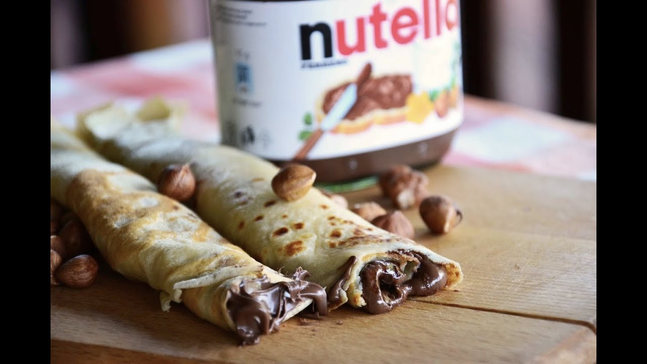 how to make sweet crepes with nutella