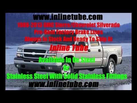 Gmc Sierra Chevrolet Silverado Brake Line Rust Problems Youtube