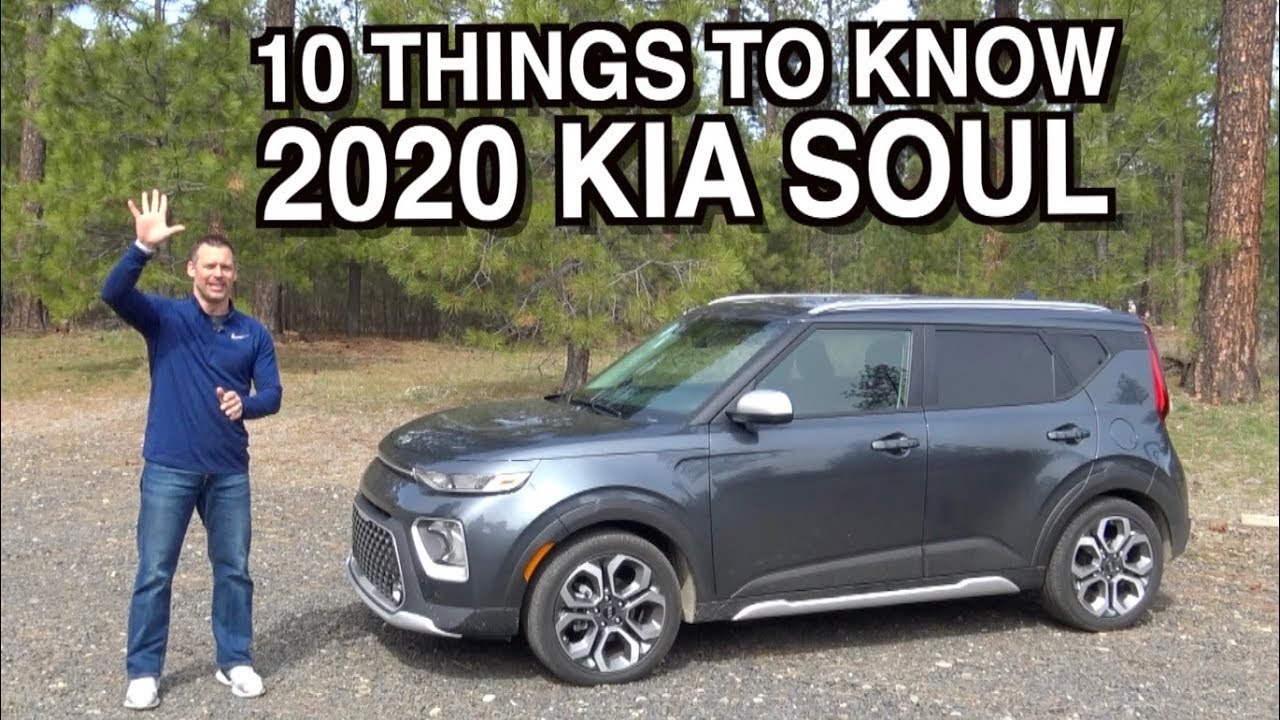 10 Things About 2020 Kia Soul On Everyman Driver Youtube