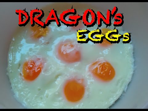 [Dragon's Eggs] Super-Duper Easy Way to Cook Eggs in the Microwave
