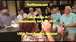Des Moines IA dueling pianos by Fun Pianos! - 6/28/2017 USDA