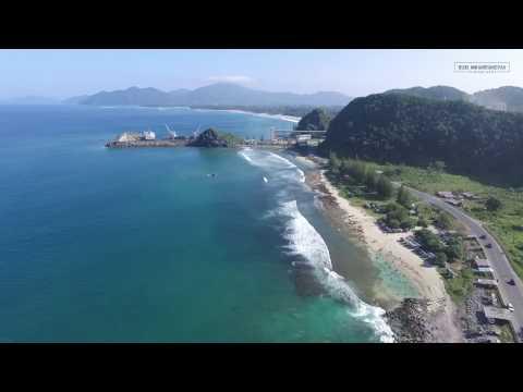 Keindahan pantai Lhoknga Aceh