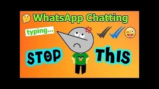 Stop WhatsApp Chatting & Using Emojis ! | Angry Prash