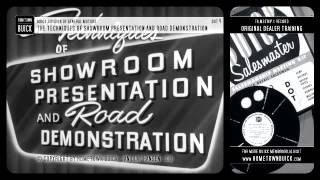 1952 Buick - Techniques of Showroom Presentation and Road Demonstration on DVD!