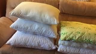 как старую подушку сделать новой